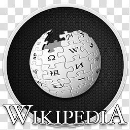 Wikipedia Icon, Wiki, Wikipedia logo transparent background.