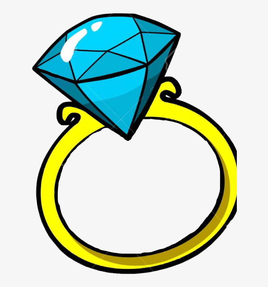 Diamond Ring Pop Art Clipart , Png Download.