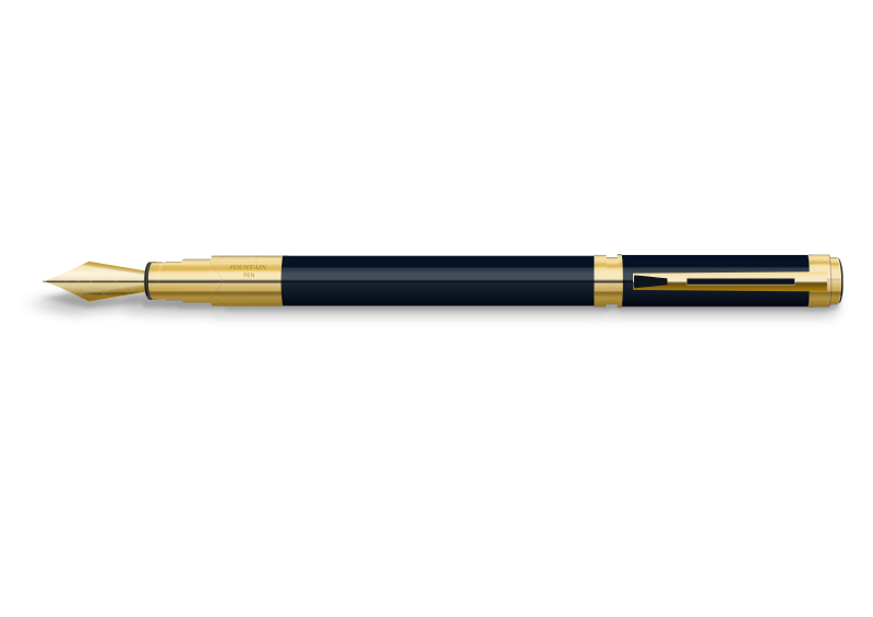 Free Clipart: Fountain Pen.
