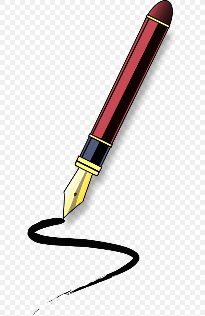Paper Fountain Pen Quill Clip Art, PNG, 600x1265px, Paper.