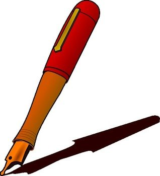 Fountain Pen Panda Free Images clipart free image.