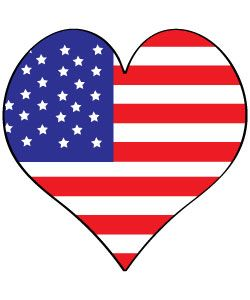 Free 4th Of July Clipart and graphics to print or use on websites.