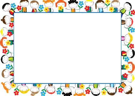 Clipart Frames And Borders For Kids.