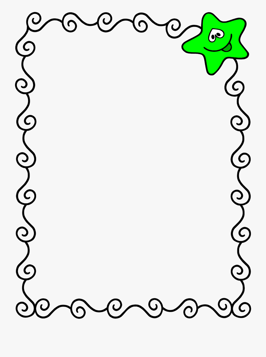 Borders And Frames For Kids Clipart.