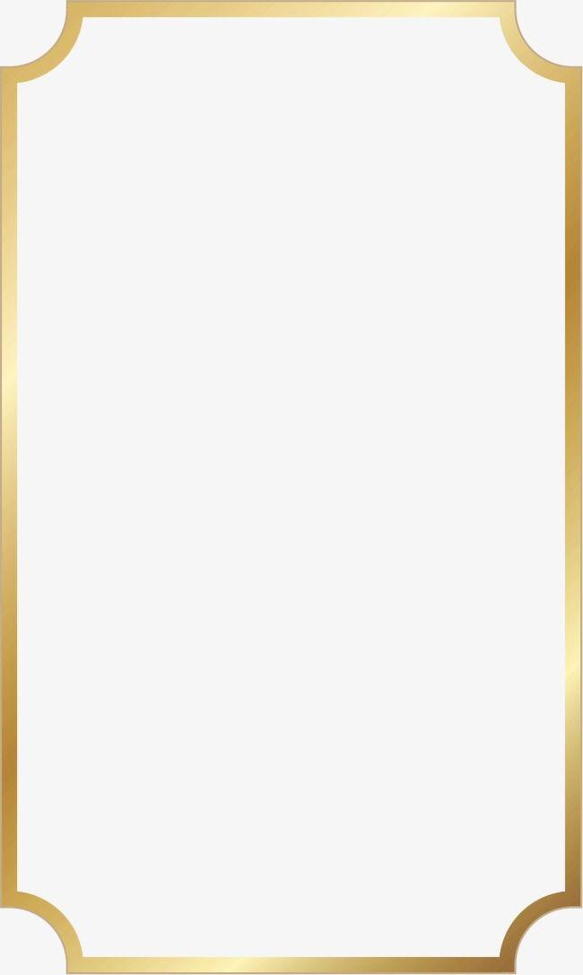 Gold Frame, Frame Clipart, Frame PNG Transparent Clipart.
