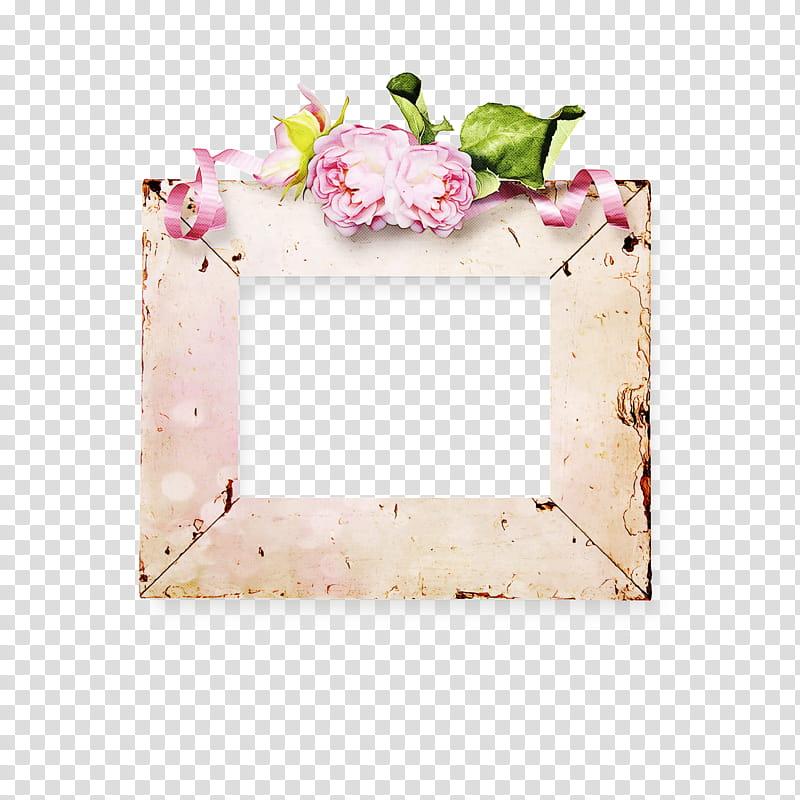 Pink Flower Frame, Floral Design, Frames, Rectangle, Pink M.