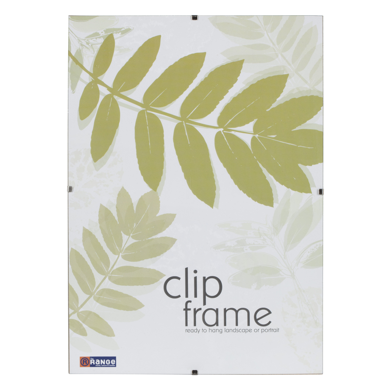 Perspex Clip Frame.