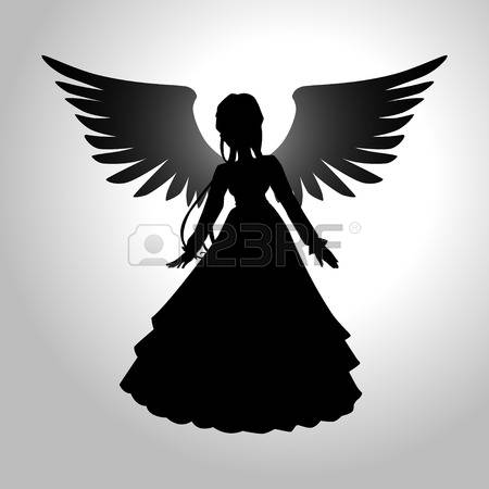 11,060 Angel Silhouette Cliparts, Stock Vector And Royalty Free.
