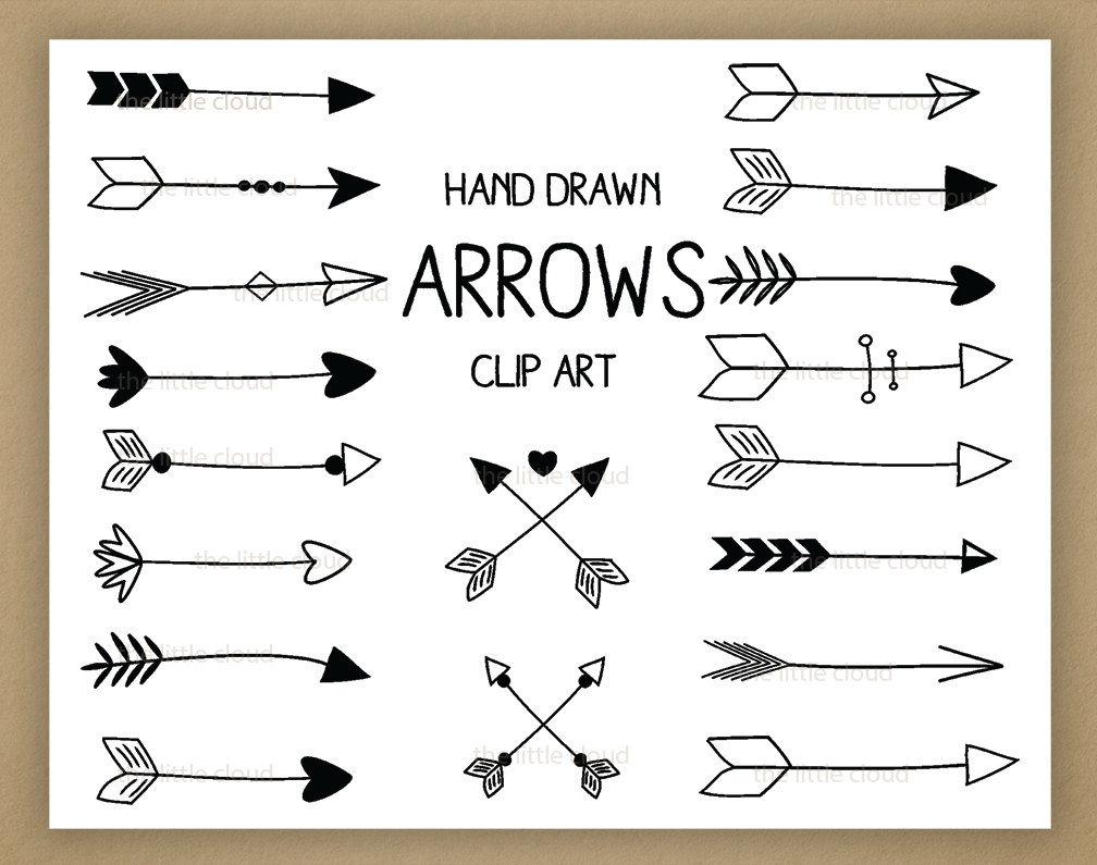 Free Arrows Clipart.