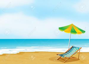 Beach Scene Clipart Free.