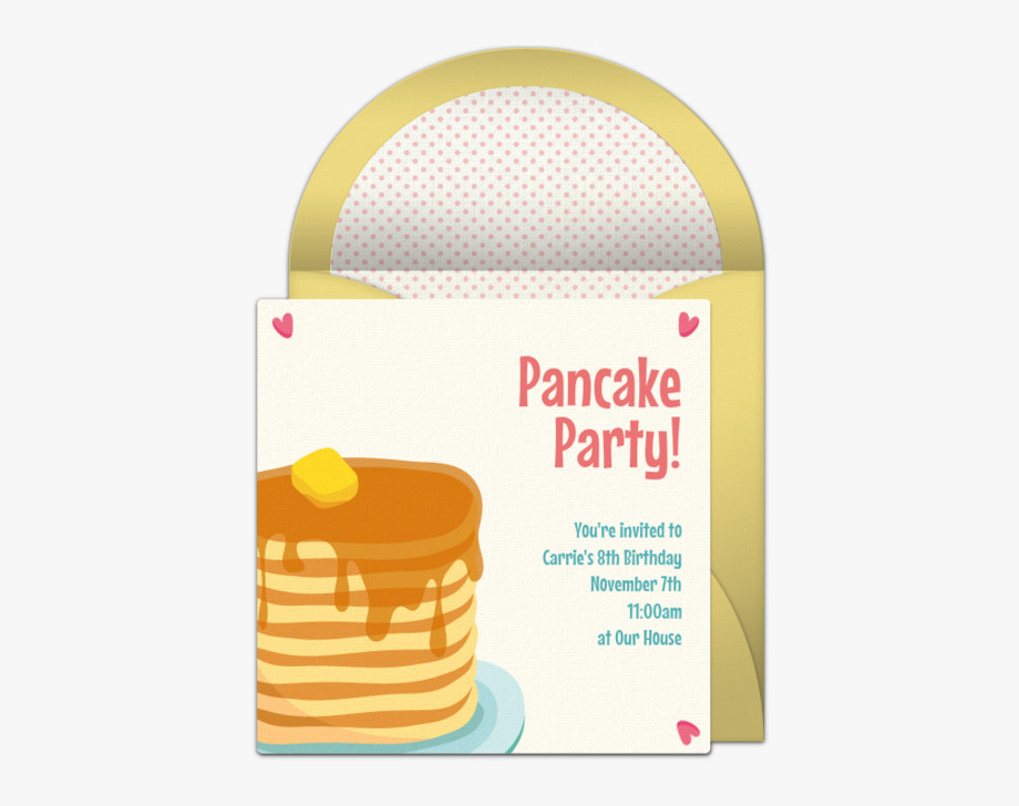 Clip Art Free Pancakes Invitations Brunch.