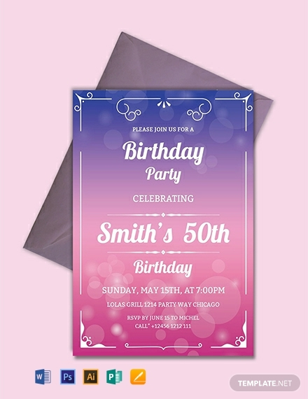 free downloadable party invitations.