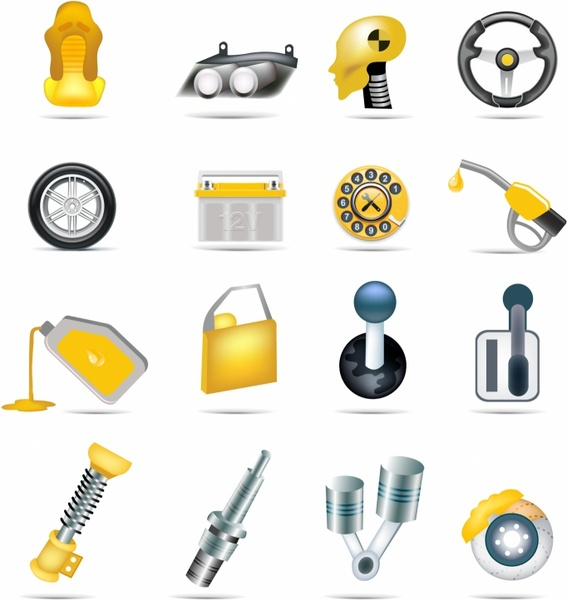 Car parts free vector download (2,450 Free vector) for commercial.