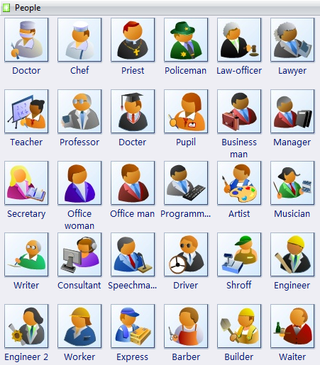 Vector People Clip Art, Free Download.