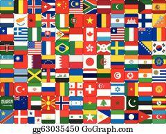 World Flag Clip Art.