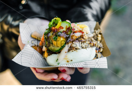 Street Food Stock Images, Royalty.