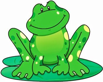 8562 Frog free clipart.