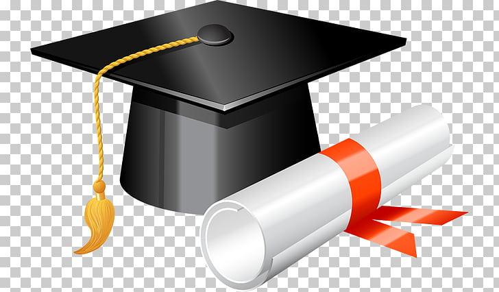 Graduation ceremony Square academic cap Diploma.