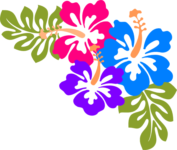 Hawaiian Flower Clipart Free.