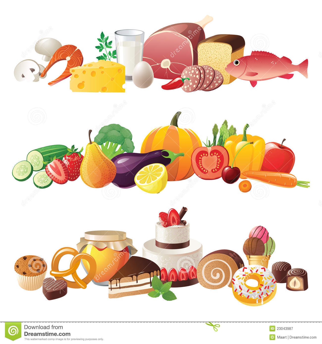 Food Clipart Borders Free Download.