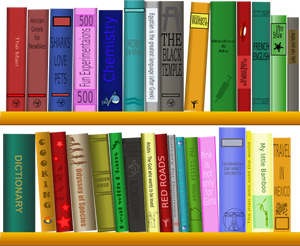 284 library free clipart.