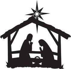 Free Clipart Of Nativity.