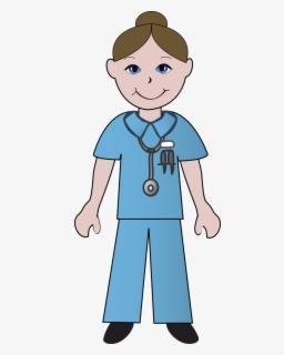 Free Nurses Clip Art with No Background.