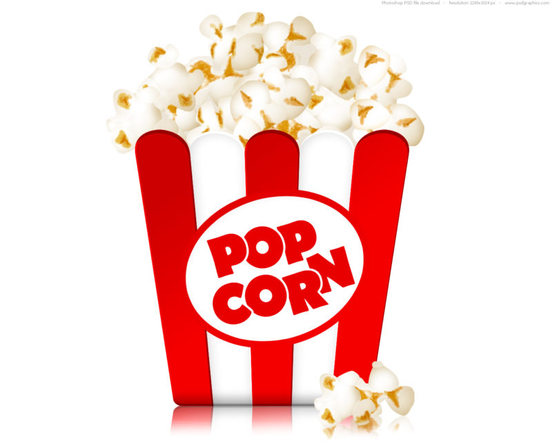 Free popcorn clipart 1 » Clipart Station.