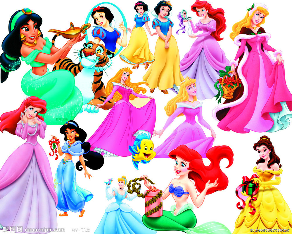 Disney Princess Clipart Free.