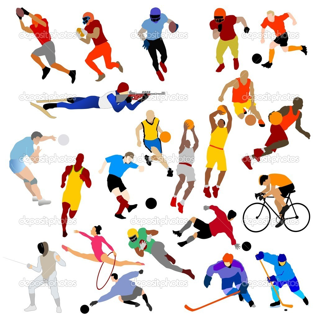 Sports Clipart Vector Free.