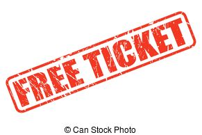 Ticket Clipart Free.