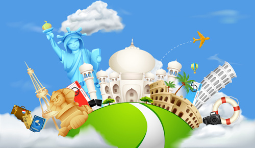 World travel clipart free vector download (5,947 Free vector.