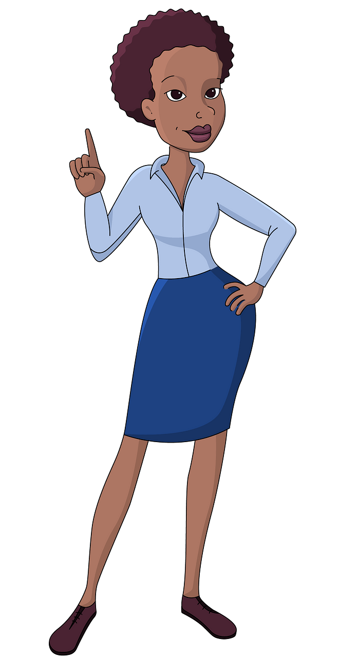 Business woman clipart. Free download..