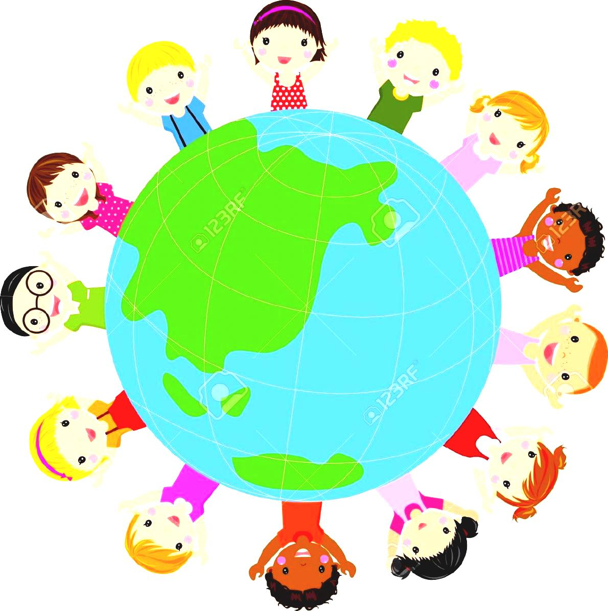 Travel Around The World Clipart Panda Free Images Orld Kids Vector.