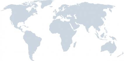 World Map More Detail clip art free vector.