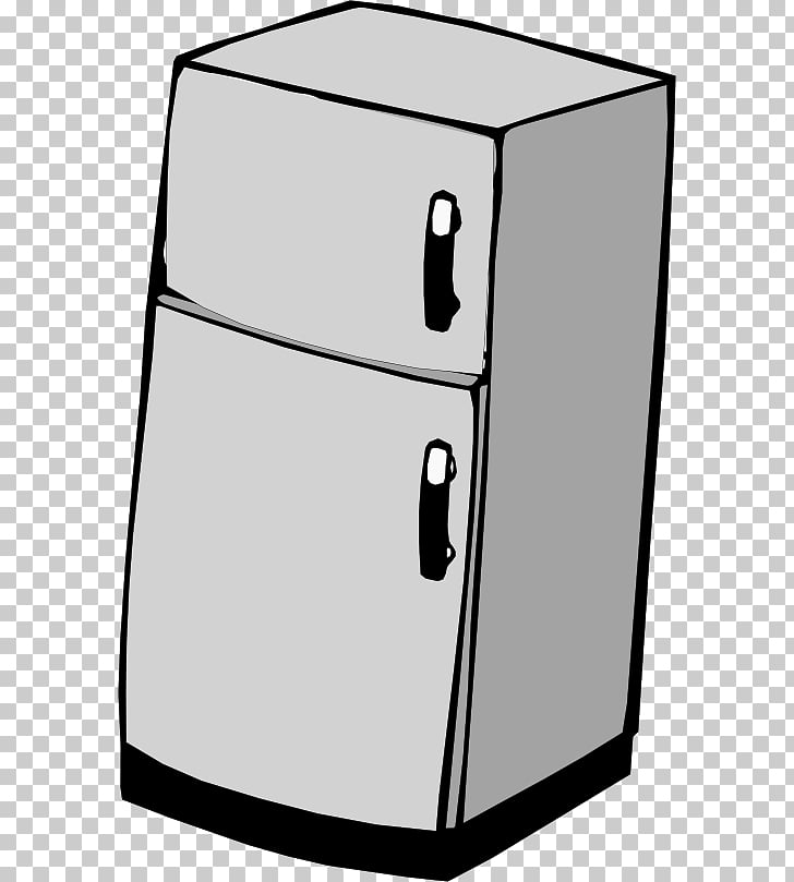 Refrigerator , freezer PNG clipart.