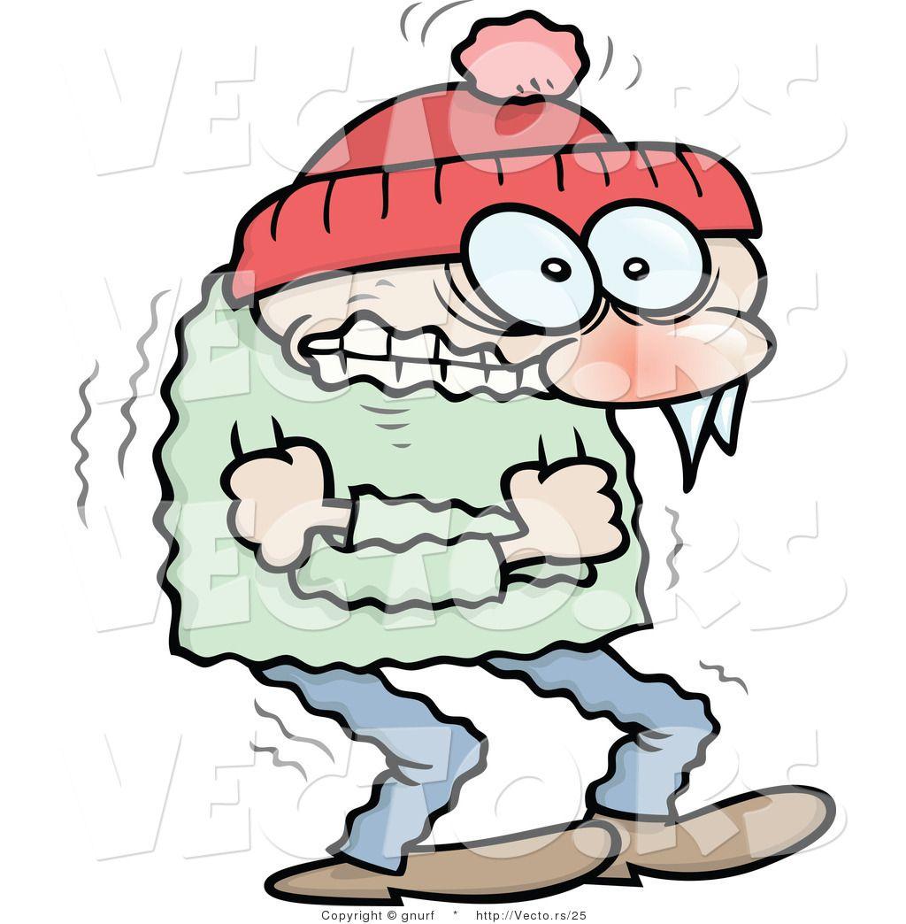 Freezing Cold Cartoon.