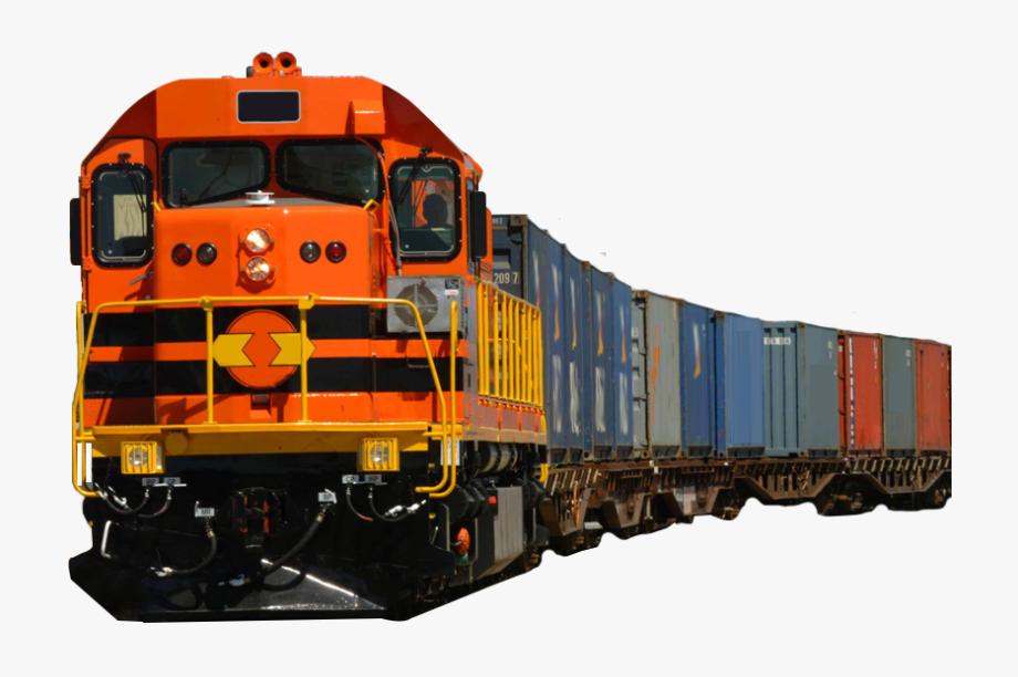 Cargo Train Clipart.