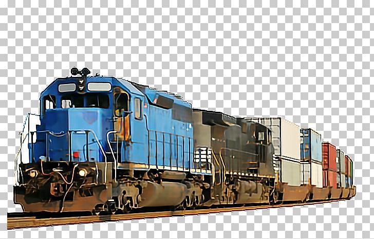 Train Rail transport Locomotive Intermodal freight transport.