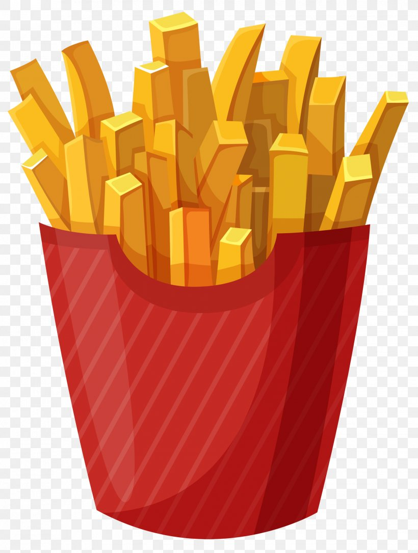 Hamburger McDonald\'s French Fries Fast Food Clip Art, PNG.