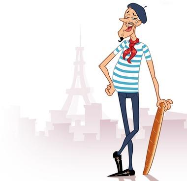 Free Cartoon French Man, Download Free Clip Art, Free Clip.