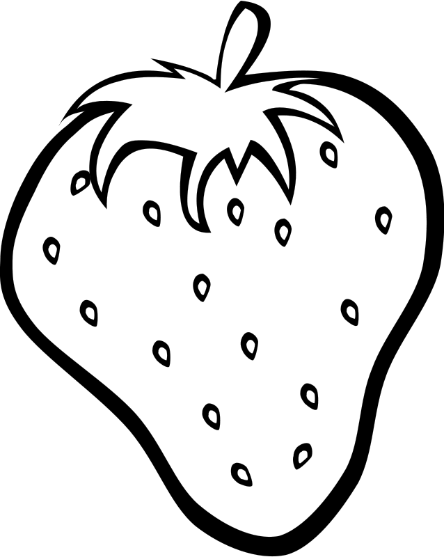 Free Clipart: Simple Fruit Strawberry.