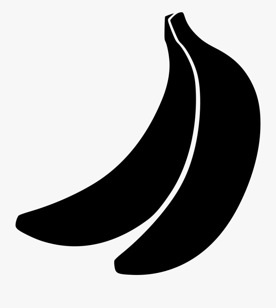 Svg Black And White Download Bananas Clipart Fresh.