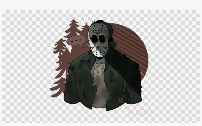 Drawing Clipart Jason Voorhees Friday The 13th.