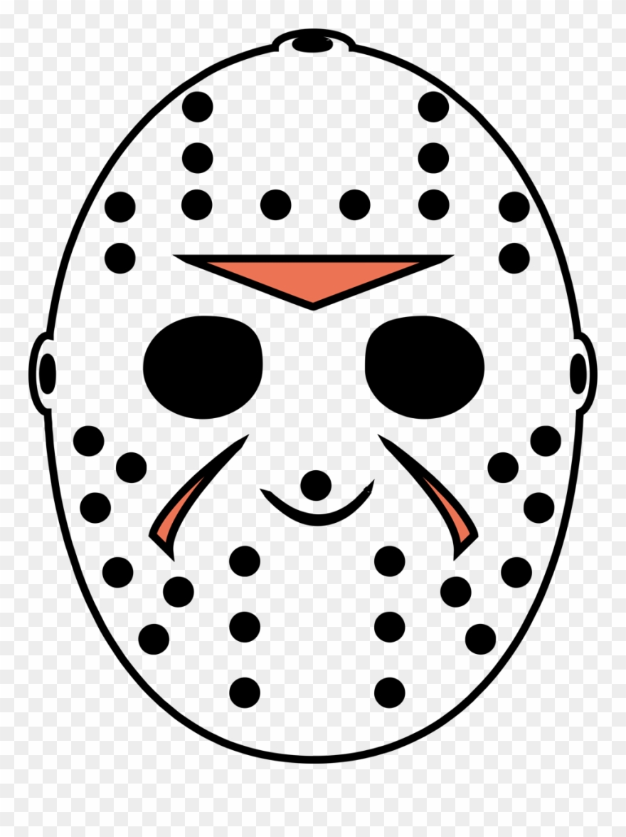 Jason Voorhees Left Breast Halloween Friday The 13th.