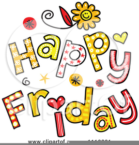 Happy Friday Clipart Images.