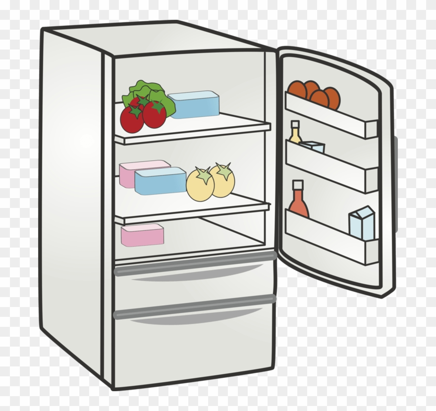 Refrigerator Clipart Png.