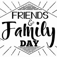 Family and friends day clipart 2 » Clipart Station.