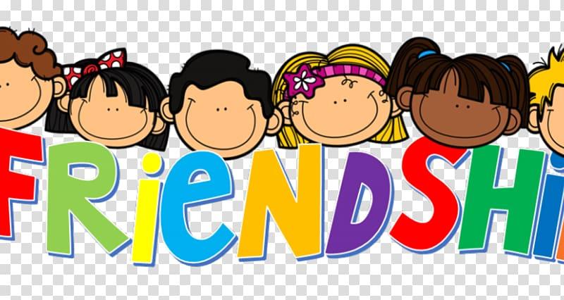 Friendship Day Month February School, friends transparent.