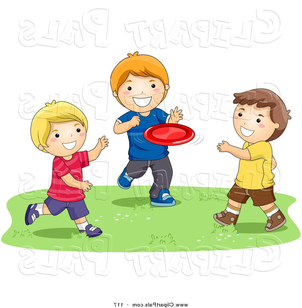 Friends playing clipart 4 » Clipart Station.